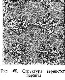 структура зернистого перлита